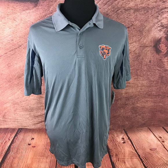 86b8f190549 NFL Shirts | Chicago Bears Tx3 Cool Polo Shirt | Poshmark